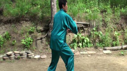 80多岁老人打杨氏太极拳24式