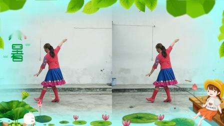 似风广场舞《彩色的腰带》四凤视频