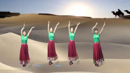 弦上缘三姐妹《天边的骆驼》抠像合屏版20190919