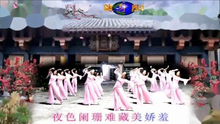 旗袍女儿情 编舞雨夜 演绎 汕尾 马宫海之蓝健身队