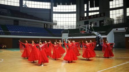 2019四川省《国家体育锻炼标准》达标赛广元分站赛成人团体标准舞开场舞