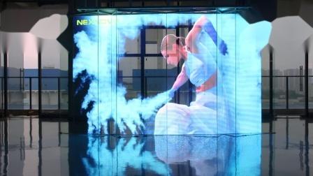 NEVNOVO晶泓科技-NJ系列透明LED显示屏