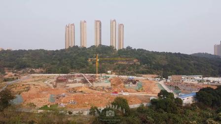 泗华小学和幼儿园建设如火如荼中 计划今年9月将相继投入使用