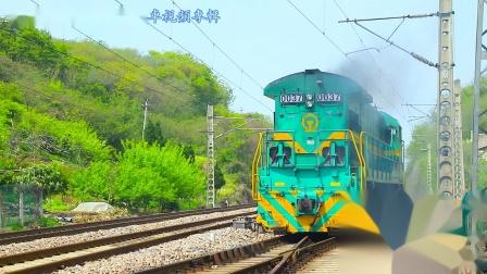 实拍百年铁路—林浦线  多款机车悉数亮相