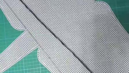 雪尼尔毛线编织包大号通用教程