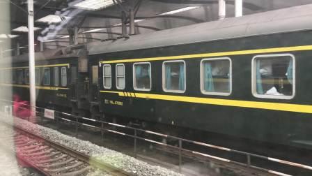 【车厢视角】Z122次(广州-成都)慢速通过武昌站