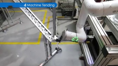 金属托架生产作业机械加工应用案例_纽禄美卡(Neuromeka)