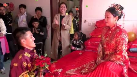 新集高庄 吴鹏 李蕾 婚礼录像 高清