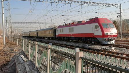 20201221_133106 京局京段SS9-0175牵引K183次(北京-南阳)柳村线路所3道通过