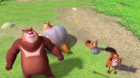 熊出没:众人齐心打败天才威