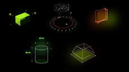 AE脚本-500多种HUD科技感赛博朋克霓虹发光MG运动元素图形动画
