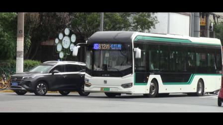 上海公交 巴士五公司 812路 长阳路军工路至共和新路长江西路