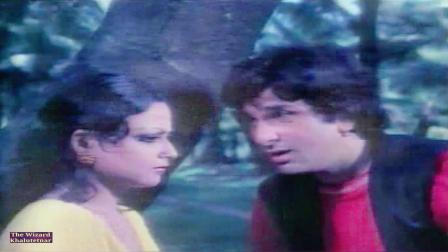 【宝莱坞怀旧】【瑞卡女神】女星 Rekha 70年代电影《人生的旅客》插曲 Kaisi Raat Biti