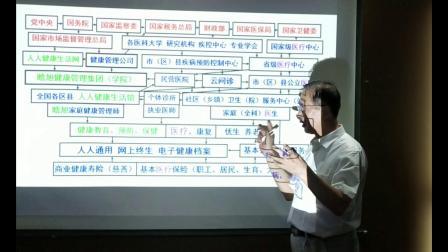 张晗旭教授给区卫健局讲全周期全方位健康管理