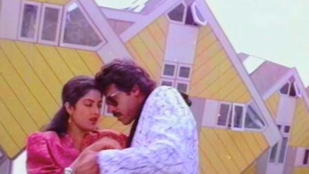 宝莱坞梦幻女神 Divya Bharti 90年代冷门电影《兰普尔之王》歌舞插曲 Kya Hua Yeh Kya Hua-Rampur Ka Raja