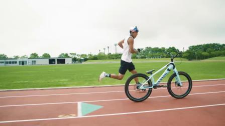 Pentathlon Challenge On a Trials Bike - Tomomi Nishikubo