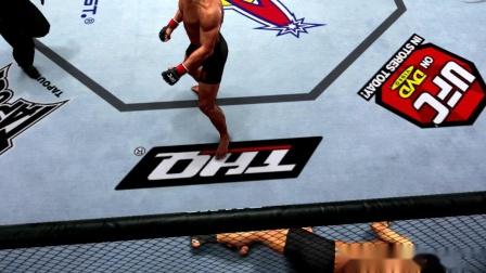 UFC2010 黑护踝帅哥被KO 111