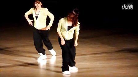 2012海南大学第五届舞林盛会决赛  X-CREW (即兴舞蹈)版本2