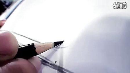 宝马BMW 6系 工业设计手绘 汽车设计手绘从草图到模型流程展示
