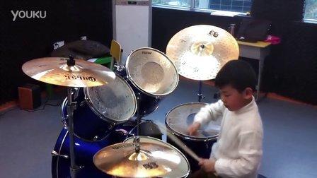 D-BOY 南通小家伙打架子鼓
