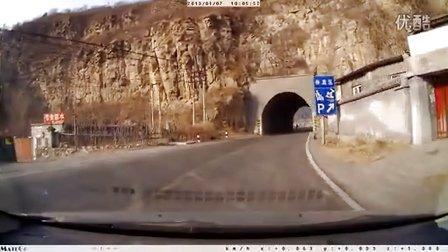 109国道出京方向担礼隧道有人往下扔石子