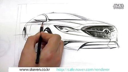 汽车设计草图表现