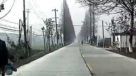 莫城乡下风光--东始——双巷小学路段
