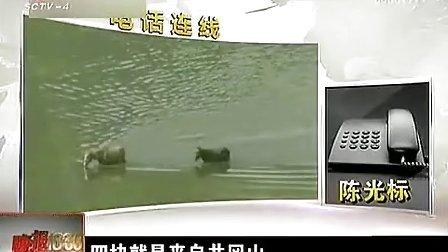 20120917四川卫视4台《晚报十点半》陈光标卖空气 宣称如同海边吹海风