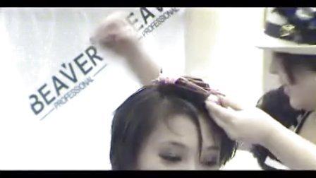 班森日式短发 日式烫发