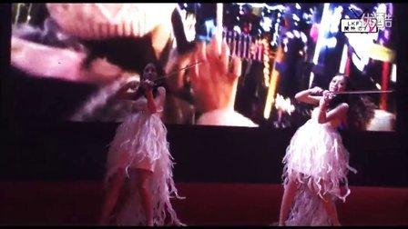 2012兰桂坊成都圣诞夜,温馨圣诞,狂欢之夜