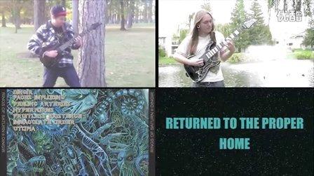 Rings of Saturn - Dingir Official Guitar Play Through