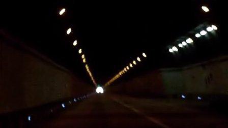 炎汝高速红军隧道通车