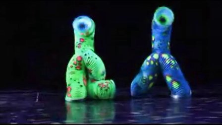 北京演出 双人彩虹舞 水管舞 彩管舞 易术 创意表演 特色表演