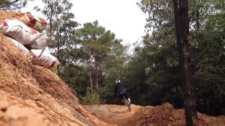 2012中山金钟山顶新 速降 林道 初级场地试练 DH FR AM(自由单车FreeMeBike)
