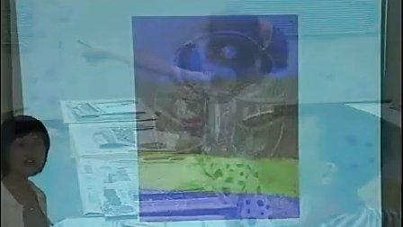 小学美术优质课观摩展示视频 刮出来的画