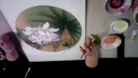 沙力金卡【牡丹】最后一步【花丝 花药的——勾和分染】