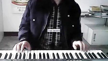 电子琴演奏-在心里永远有个你