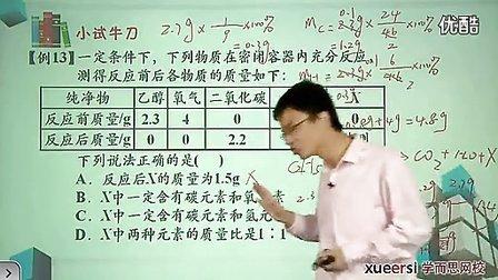 (3) 质量守恒定律例13-例15