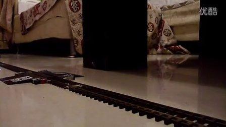 新买的和谐D3机车试运行