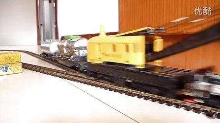 东风11内燃机车模型牵引混编小列慢速