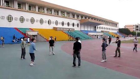 人毽人爱广外围踢 101226 01 踢毽子 毽球高手 花毽 Shuttlecock 毽子对踢