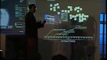WPDang_微软下一代办公墙展示视频