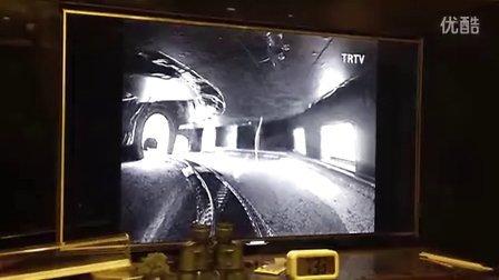 火车模型 20频道TR高清电视台正在播出布卢门菲尔德小镇沙盘