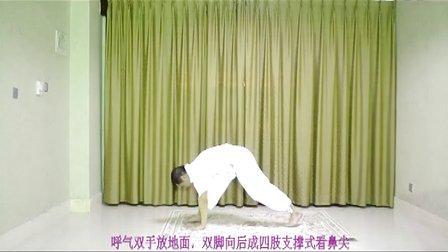 有字幕有声音的瑜伽教学拜日B