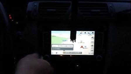 昆明德赛西威 大众新宝来专用DVD导航安装实拍