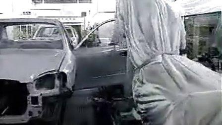 汽车跟踪喷涂机器人