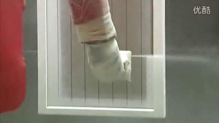 机器人喷涂门