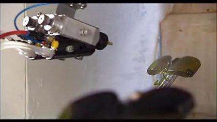 眼镜镜片喷漆机器人