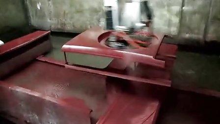 往复机喷涂洗衣机外壳