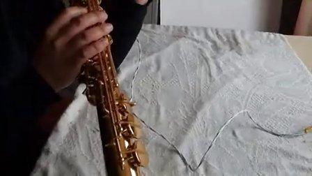 一支高音萨克斯的维修
